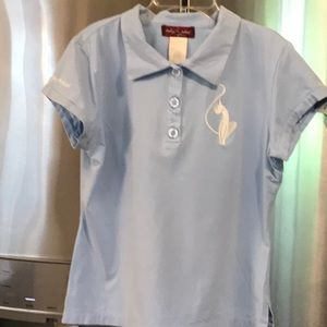 Baby Phat kitty cat sizeL gently used shirt top